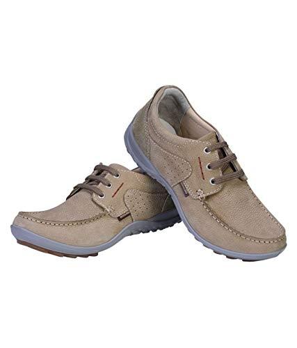 Woodland Men's Khaki Sneakers-7 UK/India (41 EU)(GC 1923115)