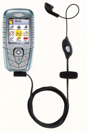 Siemens HHS-510 Headset mit PTT für C, S, A, M55, A52, C60, MC60