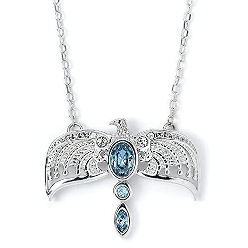 Harry Potter Sterling Silver Diadem Necklace Embellished with Swarovski Crystals