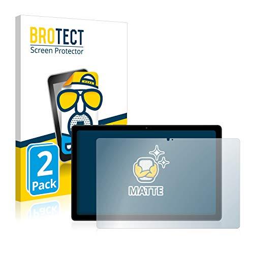 BROTECT 2X Entspiegelungs-Schutzfolie kompatibel mit Samsung Galaxy Tab A7 10.4 LTE 2020 (im Querformat) Matt, Anti-Reflex, Anti-Fingerprint