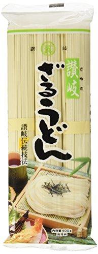 石丸製麺 讃岐ざるうどん 袋400g [3071]