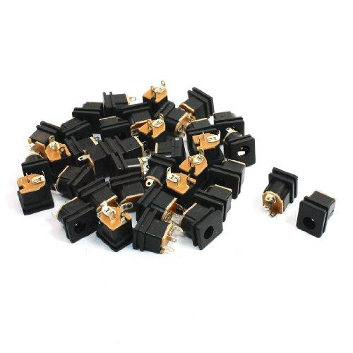 37 x DC stroomvoorziening jack adapter, bus 5,5 mm x 2,5 mm
