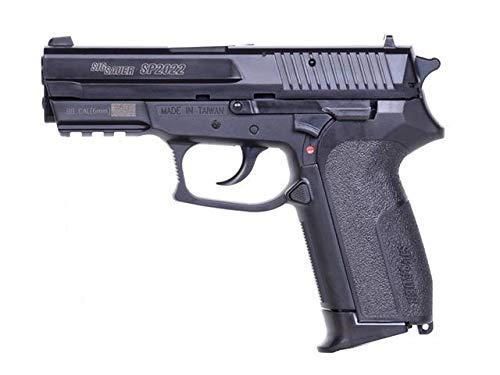 Kurt24 Sig Sauer SP2022 H.P.A. 6mm Federdruckpistole inkl Gelscheibe