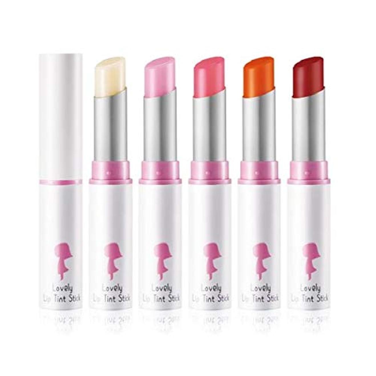 ショッキング寝室を掃除するフラグラントYADAH Lovely Lip Tint Stick #02 Peach Slush 4.3g ラブリーリップティントスティック - 4.3g #2ピーチスラッシュ[並行輸入品]