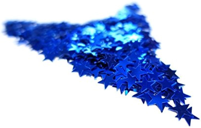 Versandhop 450g Stars bluee Metallic Glitter Confetti Table Decoration Party Wedding Craft Christmas