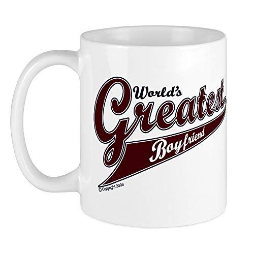 CafePress - World's Greatest Boyfriend' Mug - Unique Coffee Mug, Coffee...
