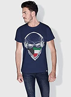 Creo Kuwait Skull T-Shirts For Men - Xl