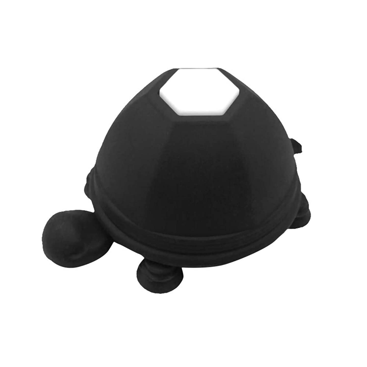 Sconary Silicone Novel Turtle Shaped Cable Earphone Winder Funny Lovely for Mobile Phone Holder Stand Top Durable (Black)