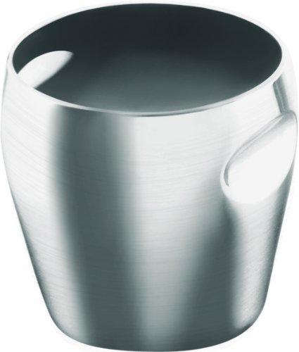 Alessi - Cubitera para Botellas de Vino, Metal Mate
