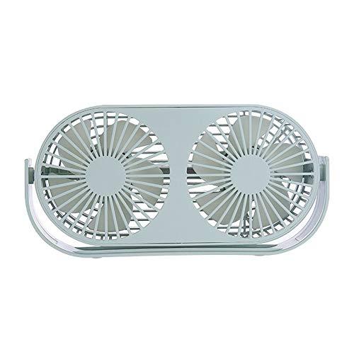 JDD Mini Ventilateur de Bureau Ventilateur Personnel Portable en USB 3 Vitesses Réglables Aussi Bien pour l'intérieur et l'extérieur,003