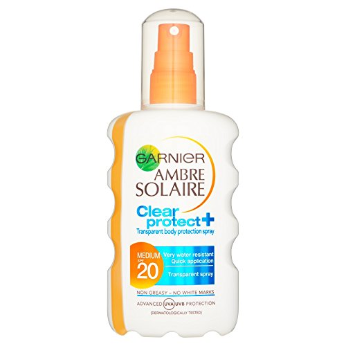 AMBRE Solaire Clear Spray SPF20 200 ml