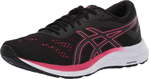 ASICS Women s Gel Excite 6 Running Shoes 8M Black Rose Petal product image