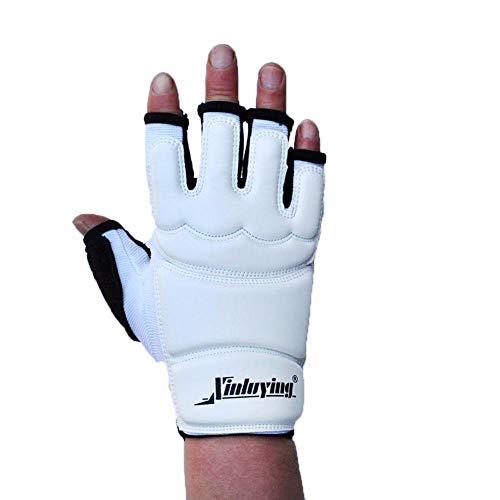 LLine Lederen Grappling Handschoenen Fight Boks Bokszak Sparring voor MMA Gym Fitness Handbrace Ondersteuning Bescherm Apparatuur 1 paar, L