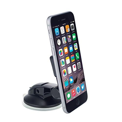 OSOMount Car Holder, Smart Touch Universal KFZ Auto Handyhalterung für Apple iPhone 4S/5/5S/5C/6 & Smartphone - Schwarz