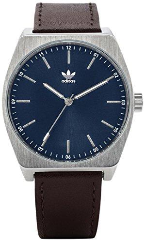 Adidas Herren Analog Quarz Uhr mit Leder Armband Z05-2920-00