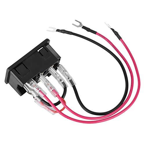 Velaurs Herramientas de Impresora 3D universales Enchufe de Interruptor de Toma de Corriente práctico, Interruptor de Encendido para Impresora 3D, para Impresora 3D