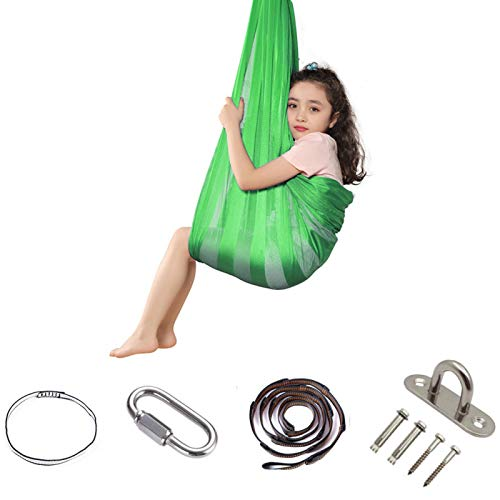 Tree2018 Therapy Swing for Kids Indoor Therapy Swing Snuggle Cuddle Hammock Cacoon for Children with Special Needs,Snuggle Swing Cuddle Hammock Mesh Cloth