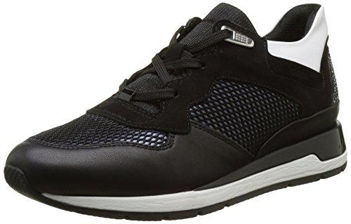 Geox D Shahira B, Zapatillas para Mujer, Negro (blackc9999), 37 EU