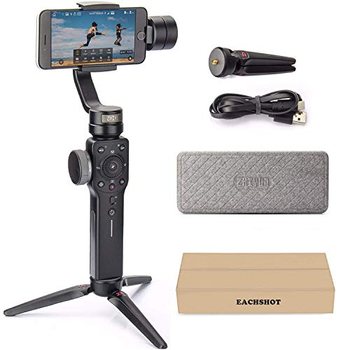 Zhiyun Smooth 4 3-Axis Handheld Gimbal Stabilizer YouTube Video Vlog Tripod for iPhone 11 Pro...