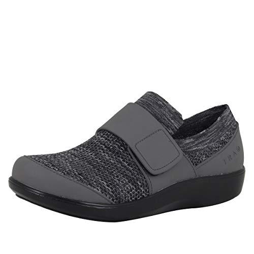 Alegria TRAQ Qwik Womens Smart Walking Shoe Charcoal 8 M US