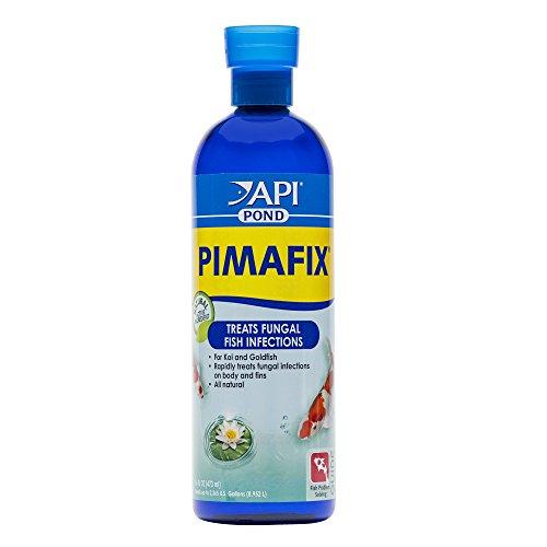 API POND PIMAFIX Antifungal Pond Fish Infection Remedy 16-Ounce Bottle