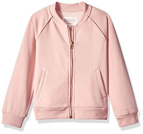 Gymboree Girls' Big Bomber Jacket, Blush Cozy, S