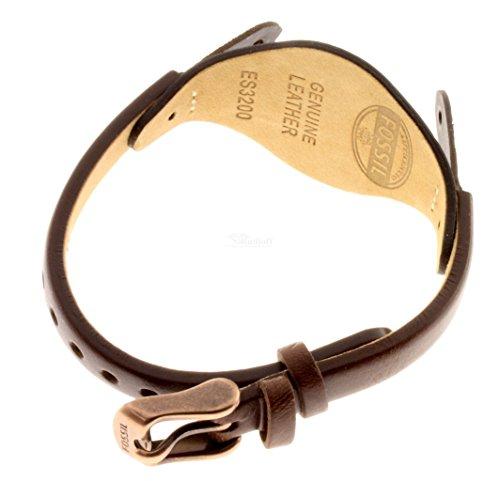 Fossil ES3200-band - Correa de Cuero