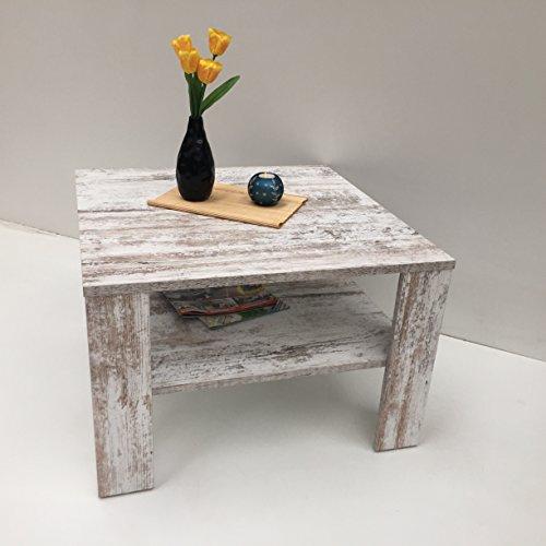 Möbel SD Couchtisch- Beistelltisch Wohnzimmertisch Kaffeetisch (Jan) Canyon White Pine