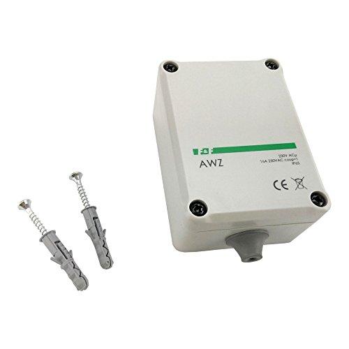 Interruptor crepuscular con sensor de luz Interno Sensor Crepuscular Sensor de luz regulable dämmerungssautomat AWZ F & F 1047