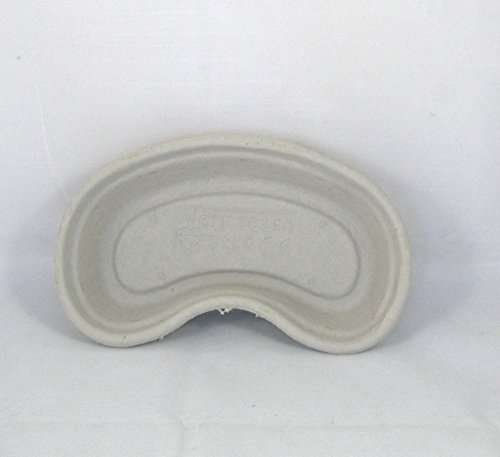 10 Disposable Cardboard Pulp Kidney Dish Bowls Hospital Style