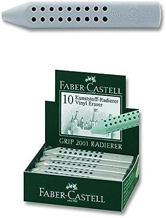 schwarzer Radiergummi f/ür Bleistifte und Buntstifte L/äufer 69942 MultiGrip Design-Radierer edel und funktionell Geschenkverpackung