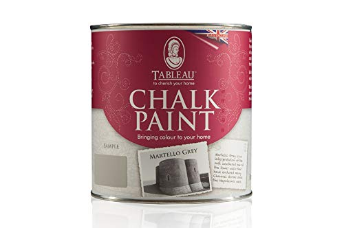 Tableau Kreide Paint, Martello grau