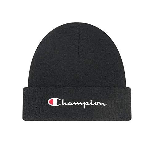 Champion Rochester Beanie Cap Mütze Strickmütze schwarz black