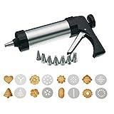 FACAI Spritzgebäck Maschine Gebäckspritze DIY Cookie Press Gun Kit 8 Arten Von dekorativen...