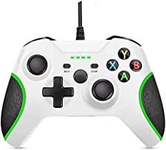 Xbox One Controller Wired Xbox Controller PC Controller with Vibration Feedback Wired Gamepad Game Controller for Xbox One...