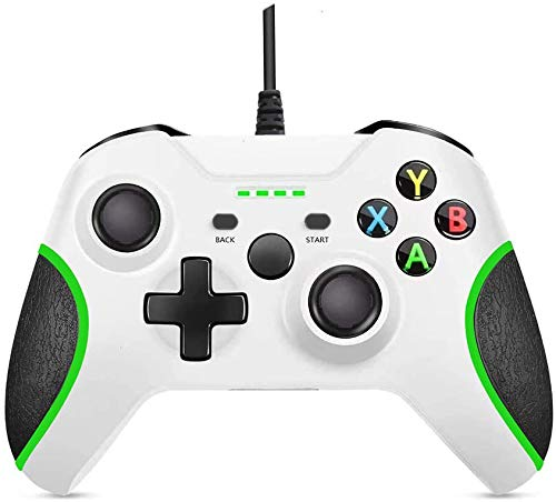 Wired Xbox One Controller with Vibration Feedback & Upgraded Joystick Controller Replacement for Xbox One Game Controller for Xbox One Series and PC