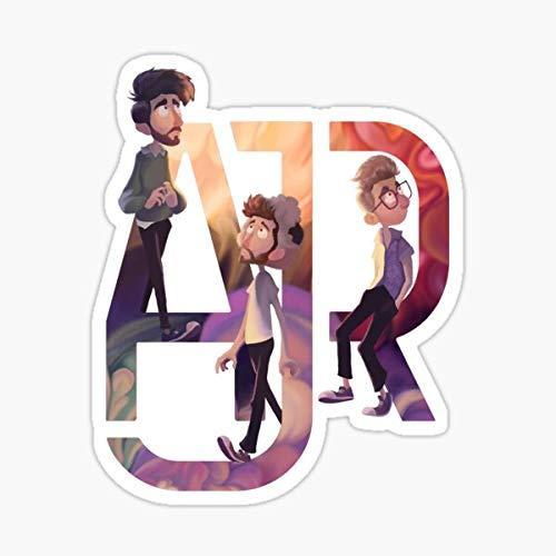 AJR: The Click Galaxy Sticker - Decal Sticker - Peel and Stick