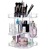 N/ YAOUXSN Aufbewahrungsbox Acryl Rotierende Kommode Einstellbare Desktop Lippenstift Hautpflege Schönheit Pinsel Regal