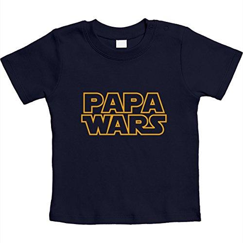 Cadeau voor fans - Papa Wars Unisex baby T-shirt maat 66-93