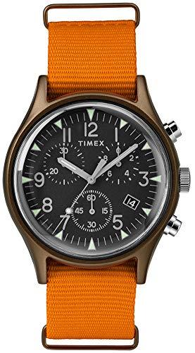 Timex Relógio masculino cronógrafo de quartzo com pulseira de nylon TW2T10600