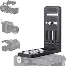 Fomito DSLR L Bracket Quick Release Plate with 1/4 & 3/8 Inch Screw for Professional 4K Video Camcorder