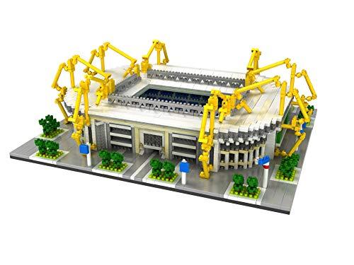 BAIDEFENG Kit De Construcción De Estadio De Fútbol De Fama Mundial Modelo De Parque De Micro Ladrillos Juguete De Construcción De Bricolaje Micro Bloques Juguetes Educativos Regalos para Niños,D