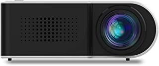 YG210 Mini LED Projector 1080P Supported 600 Lumens Portable Multimedia Home Cinema Theater Video Projector Player Built-i...