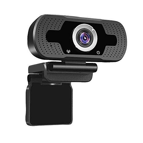Webcam con micrófono 1080P HD cámara web USB cámara de ordenador para ordenador portátil PC de escritorio Mac videollamadas grabación streaming en línea enseñanza de negocios conferencia juegos