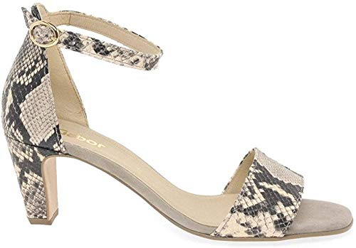 Gabor Unicorn Womens High Heeled Sandals 5,5 UK/38,5 EU 52 Python-beige Prin