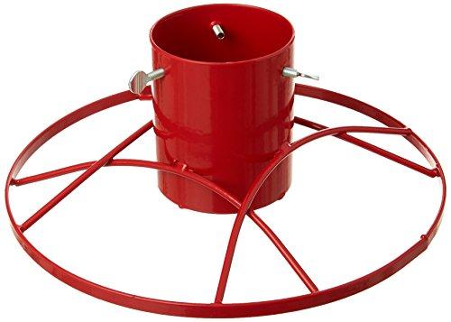 Bosmere Pied Contemporain pour Sapin de Noël 10 cm Red