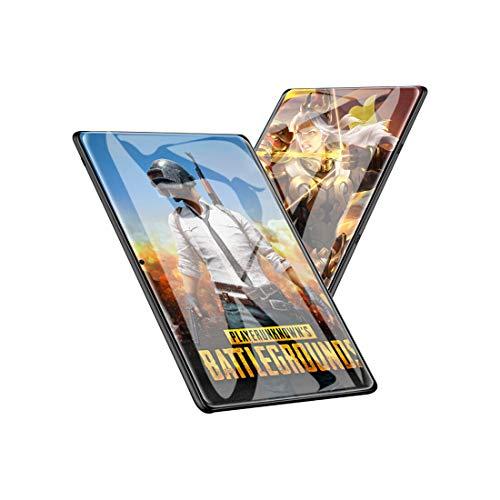 Hodoson Tablet 25,7 cm (10,1 Zoll) Android-Tablet mit 2 GB + 32 GB, 3G Handy-Tablets & Dual-SIM-Karte & 5 MP + 2 MP Kamera, Quad-Core-Prozessor, 1280 x 800 IPS 2.5D Arc HD-Display, GPS, FM (schwarz)