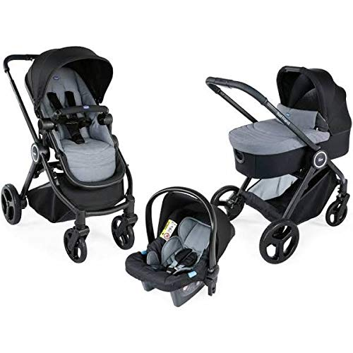 Chicco Trio Best Friend Travel System Stone with Car seat