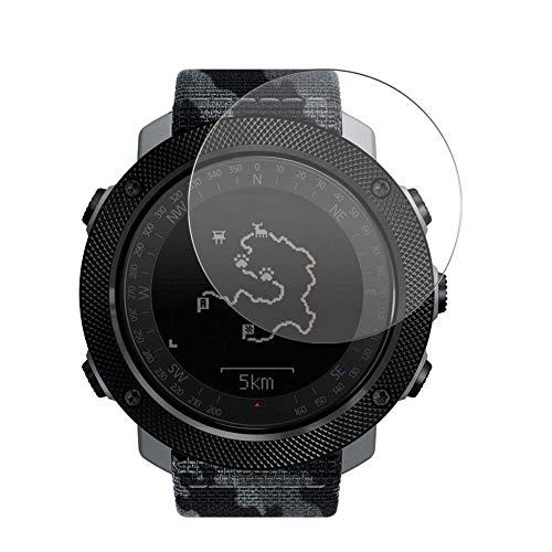 Vaxson 3-Pack Vetro Temperato Pellicola Protettiva, compatibile con Suunto Traverse Alpha, 9H Screen Protector Film [Non Cover Case ]