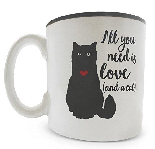 Burton & Burton Mug 13 Oz Cat All You Need Is